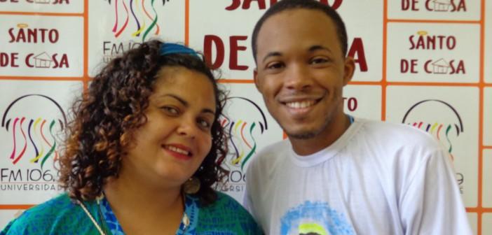 Raydenisson Sá e Alessandra Lobo no Santo de Casa