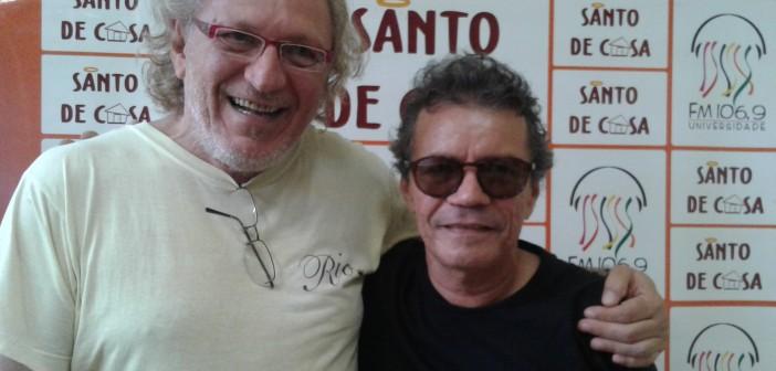 """Gerude e Ronald Pinheiro falam sobre o projeto """"Estação da Música"""" no Santo de Casa"""