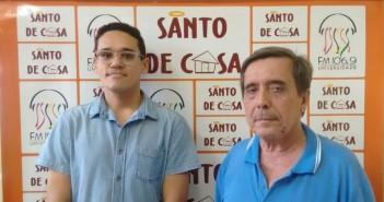 """No quadro Roda de Conversa o tema: """"Os Limites da Liberdade de Expressão"""" com o Advogado e Professor Arnold Filho e o Professor Ramon Bezerra"""