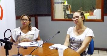 Laysce Marques e Luciana Rocha, estudantes do Curso de Turismo da Universidade Federal do Maranhão
