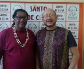 Quadro Roda de Conversa do Santo de Casa recebe o professor Carlos Benedito e o DJ Ademar Danilo para fala sobre o reggae no Maranhão
