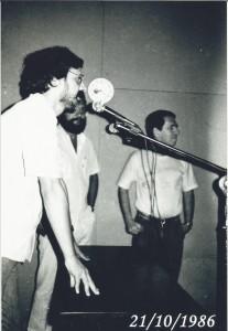 Inauguração da rádio.