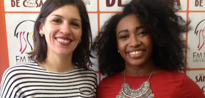 """No Roda de Conversa, a professora, Giovana Vieth e a historiadora, Kellen Lopes dialogam sobre """"A Hipersexualização da Mulher no Carnaval"""""""