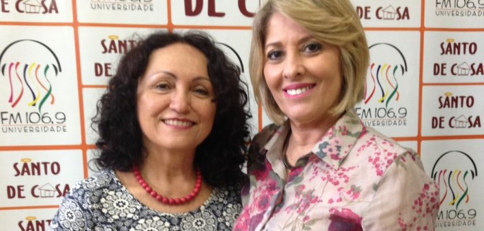"""O Santo de Casa recebe Fernanda Pinheiro e Marlene Barros para falar sobre a Exposição Coletiva """"Feminino Plural"""""""
