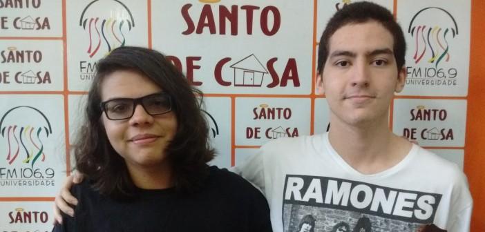 Entrevista sobre a participação da banda Alkalines no concurso EDP Live Bands, no Santo de Casa