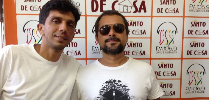 Entrevista sobre o show Tribo do Pixixita, no Santo de Casa