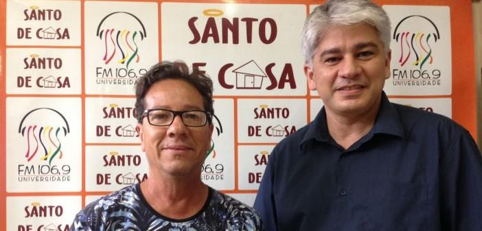 Tutuca Viana e Alberto Trabulsi falam sobre o show em homenagem a Papete no Santo de Casa