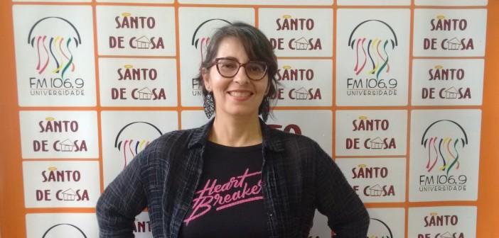 Santo de Casa recebe Lúcia Santos
