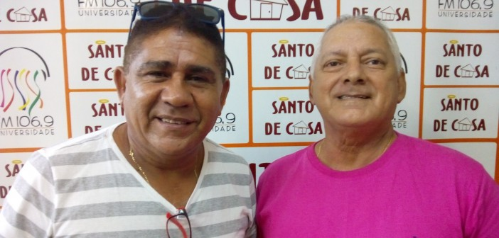 Santo de Casa recebeu integrantes do bloco Os Feras para falar sobre o Carnaval 2018
