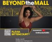 Flávia Bittencourt participará do Smithsonian FolkLive Festival neste domingo