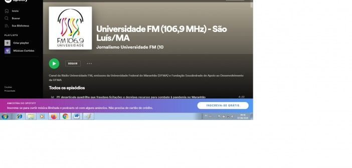 Conheça o perfil da Universidade FM no Spotify