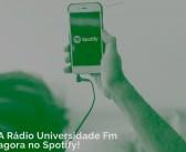 Confira o perfil da Universidade FM no Spotify